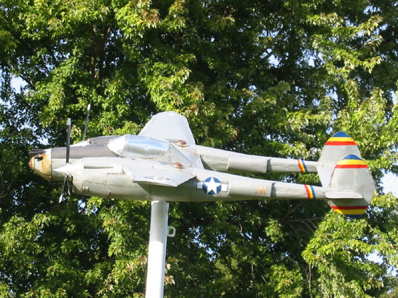 a resident near mile 30 of i 64 in indiana produces nicely detailed models of airplanes as decorative windmills each plane pivots on its post - Decorative Windmills